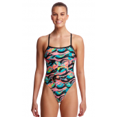 Funkita Womens Crazy Painter Cut Away One Piece