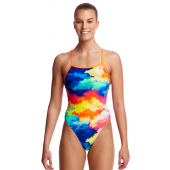 Funkita Womens Cumulus Tie Me Tight One Piece
