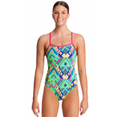 Funkita Womens Diamond Fire Single Strap One Piece