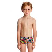 Funky Trunks Toddler Boys Dripping Printed Trunks
