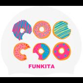 Funkita Dunking Donuts Silicone Swim Cap