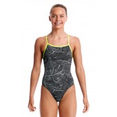 Funkita Girls Crack Up Tie Me Tight One Piece