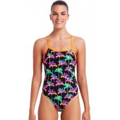 Funkita Womens Palm Drive Tie Me Tight One Piece
