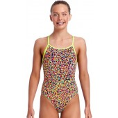 Funkita Girls Fireworks Diamond Back One Piece