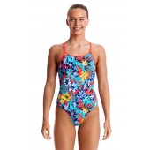 Funkita Girls Aloha From Hawaii Diamond Back One Piece