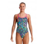 Funkita Girls Feather Fiesta Diamond Back One Piece