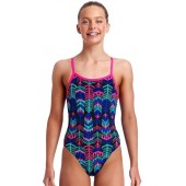 Funkita Girls Feather Duster Single Strap One Piece