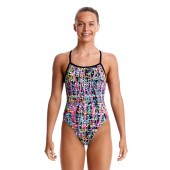 Funkita Girls Flickering Forest Single Strap One Piece