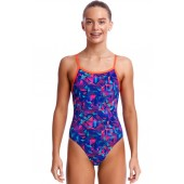 Funkita Girls Tech Suit Single Strap One Piece