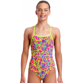 Funkita Girls Bound Up Strapped In One Piece