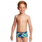 Funky Trunks Toddler Boys Boarded Up Printed Trunks