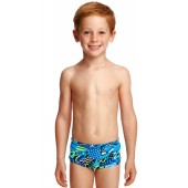 Funky Trunks Toddler Boys Rock Steady Printed Trunks