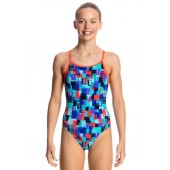 Funkita Girls Vincent Van Funk Diamond Back One Piece