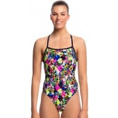 Funkita Womens Princess Cut Strapped In One Piece