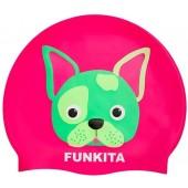 Funkita Hot Diggity Silicone Swim Cap