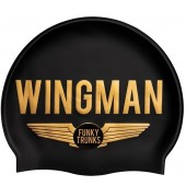 Funky Trunks Wingman Silicone Swim Cap