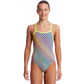 Funkita Girls Glitter Girl Strapped In One Piece