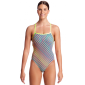 Funkita Womens Glitter Girl Strapped In One Piece