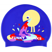 Funky Trunks Hurley Silicone Swim Cap