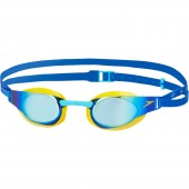 Speedo Elite Goggle Mirror Junior Yellow/Blue