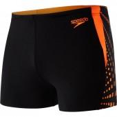 Speedo Graphic Splice Aquashort Black/Orange