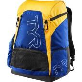 TYR Alliance Team Backpack 45L Royal/Gold