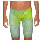 Arena Junior Powerskin R-EVO One Jammers 2019 Limited Edition- Green Glass