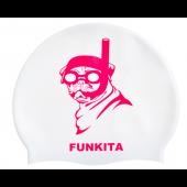 Funkita Princess Pug Silicone Swim Cap