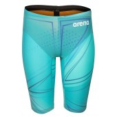 Arena Men's Powerskin R-EVO One Jammers 2019 Limited Edition- Blue Glass