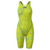 Arena Girls Powerskin ST 2.0 Limited Edition Kneesuit - Sonic Lime