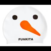 Funkita Snowy Silicone Swim Cap