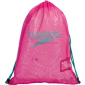 Speedo Mesh Equipment Bag - Pink/Green