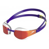 Speedo Fastskin Elite Mirror Goggles - Purple White