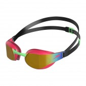 Speedo Fastskin Elite Mirror junior goggles Red/Gold