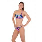 Speedo Flipturns Fizz Bounce Two Piece Crossback Bikini