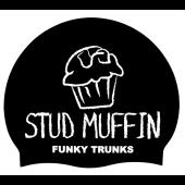Funky Trunks Stud Muffin Silicone Swim Cap