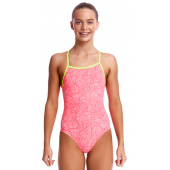 Funkita Girls Sweet Venom Tie Me Tight One Piece