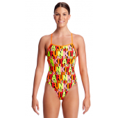 Funkita Womens Swim Girl Swim Strapped In One Piece