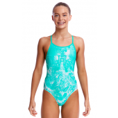 Funkita Girls Tropical Sunrise Diamond Back One Piece
