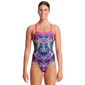 Funkita Womens Wolf Pack Single Strap One Piece